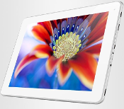 "9.7"" Dual core Tablet with 2048*1536 Pixel Retina display"