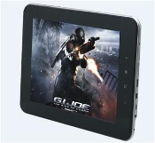 "7"" Cortex A9 Dual Core 1.5GHz  1GB DDR3, 8GB NandFlash +  WIFI"