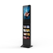 "21"" Android Floor Standing Advertising Kiosk & Digital Signage"