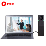Plug-n-play HD Video Conferencing System for any PC - Zoom Skype